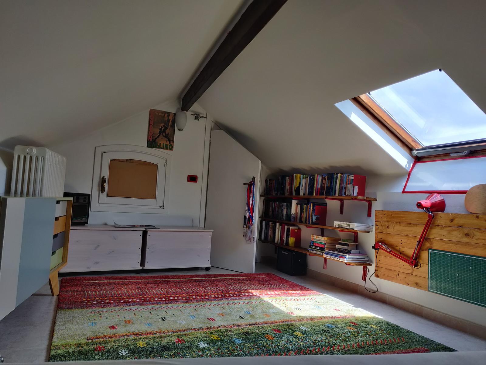 un'immagine della soffitta in una giornata di Sole
